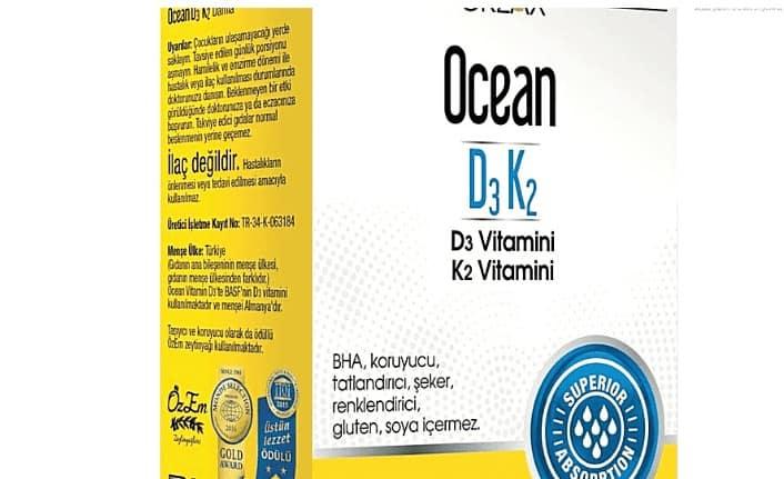 ocean d3 k2 kullanimi 2